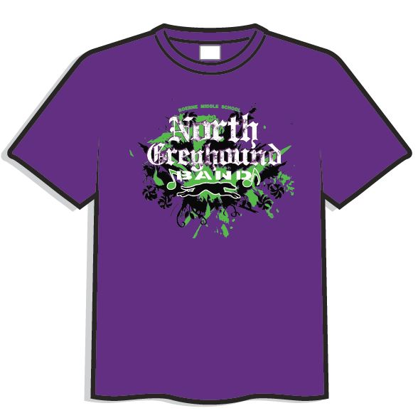 Photos boerne middle school north greyhound bands for Create your own shirt website